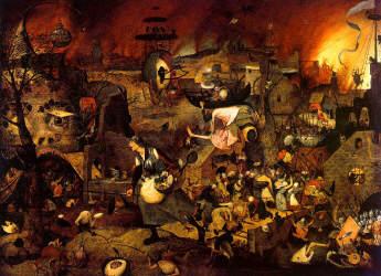 BREUGHEL: Dulle Griet (Mad Meg) (1562)