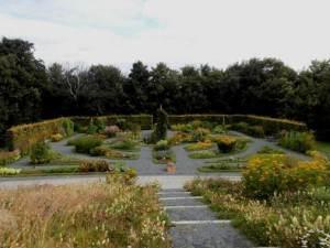 Ringve Museum herb garden
