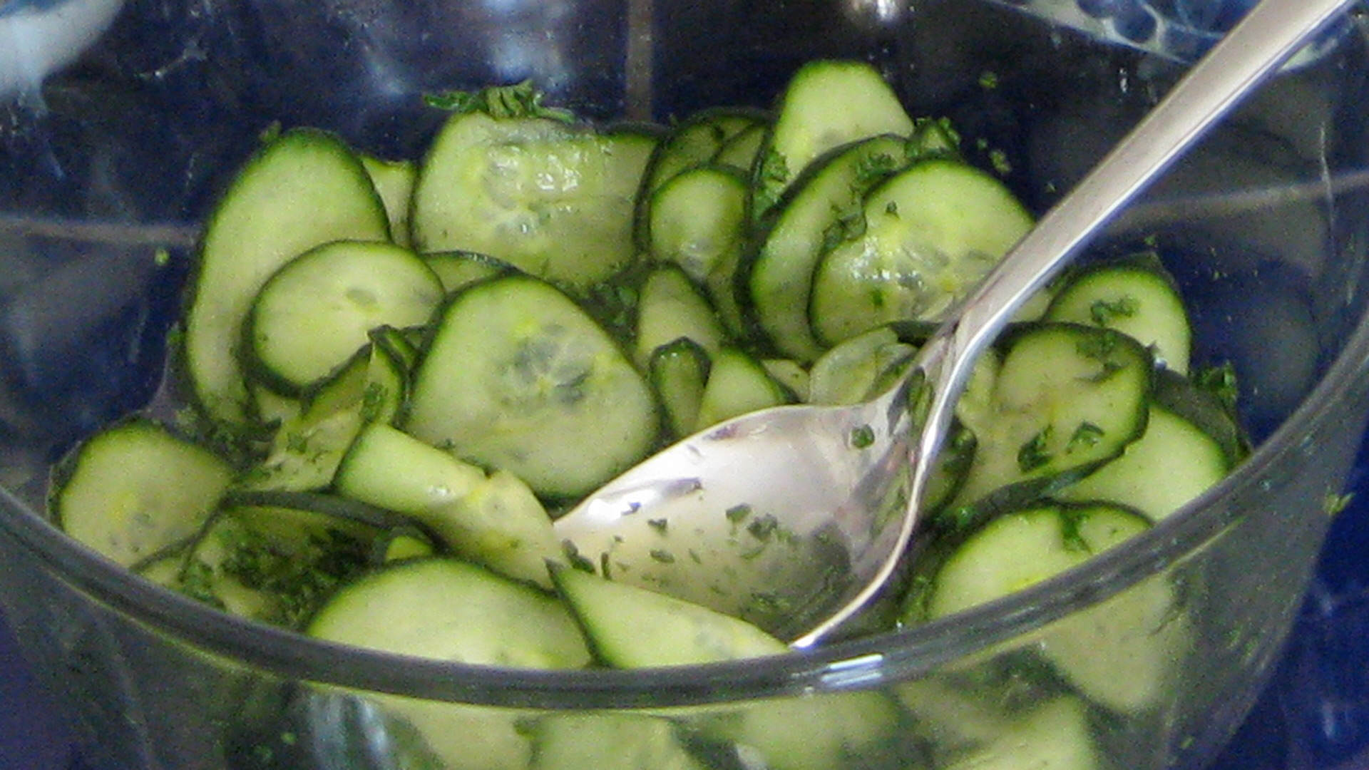 JESSICA'S PRESS GURKA (PICKLED CUCUMBERS)