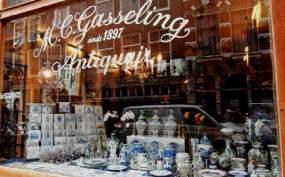 Amsterdam: antique store