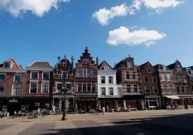 Delft: main town square