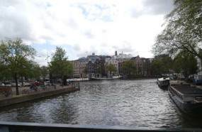 and the Amstel River