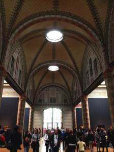 Amsterdam: The Rijksmuseum, ribbed vaulting (new connecting corridor),