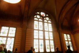 and stained glass windows