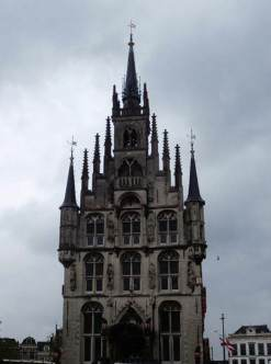 Gouda: 15th century City Hall, front
