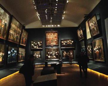 The Hermitage, Amsterdam: The Portrait Gallery of the Golden Age, with details