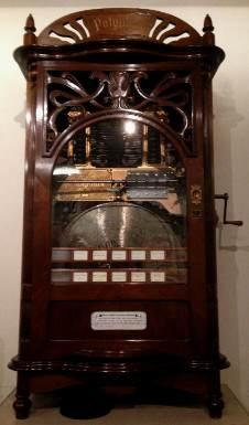 Polyphon model 5 platenwisselaar – (c.1900)