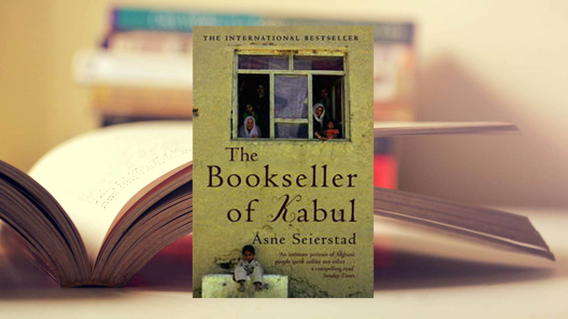 The Bookseller of Kabul by Åsne Seierstad, translated by Ingrid Christophersen