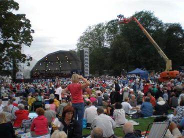 RSPO outdoor summer concert, Djurgården Park
