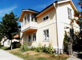 ornate cream villa