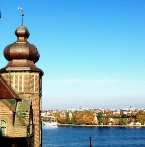 View of Skeppsholmen from Södermalm
