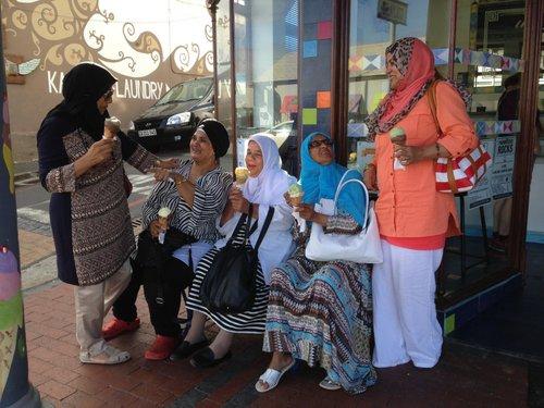 Ice-cream ladies 2