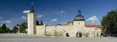 Muhlhausen town walls