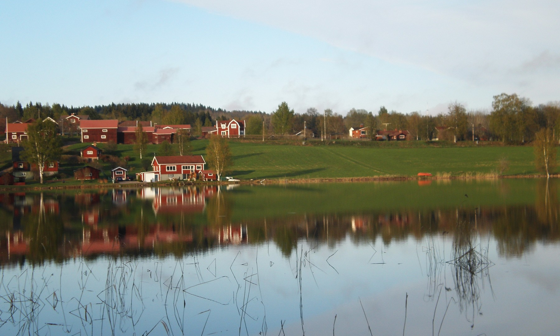 EARLY SPRING IN DARLANA, SWEDEN