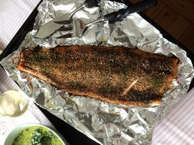 Baked Salmon ed