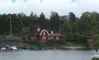 Ellen's house at Skepparviken Värmdö ed