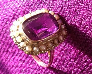 amethyst ring ed