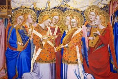 41 Coronation of the Virgin - musical angels ed