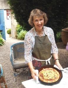 57c my gruyere and onion tart - Cha ed