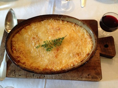 A and d's gratin - complete
