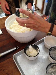 Dieter's souffles - with M's help rot