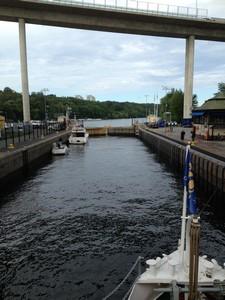 9 first lock - Hammarby