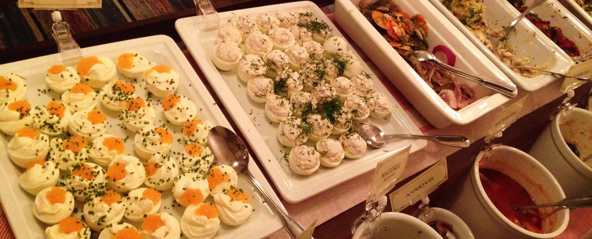 The Swedish Julbord – Christmas Buffet
