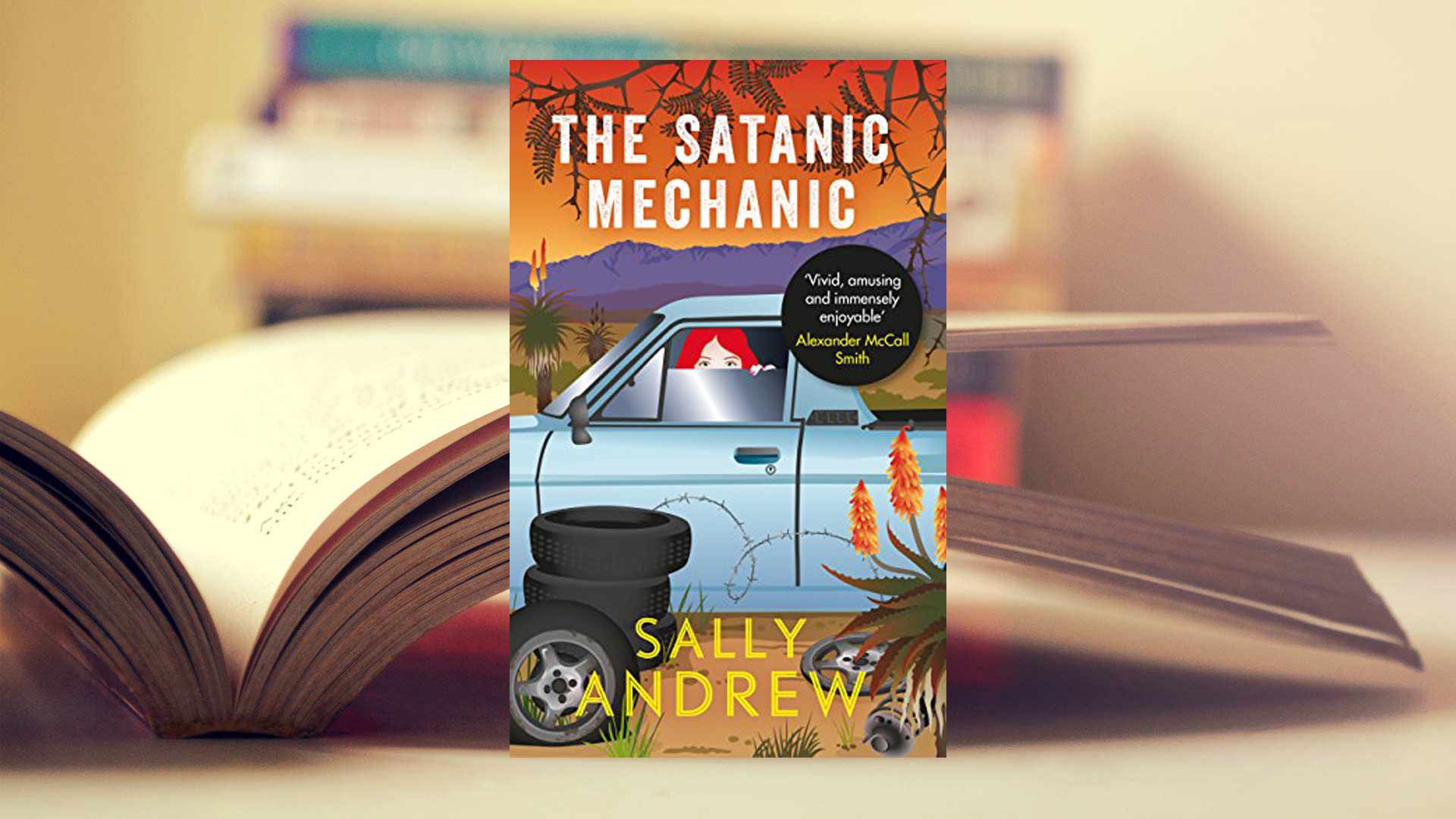 """""""Tannie Maria and the Satanic Mechanic"""" by Sally Andrew"""